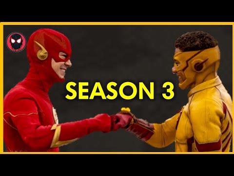 The Flash Season 3 Episode 1 Opening Scene (Fan Made)