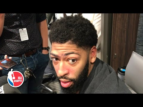 Anthony Davis breaks down 50-point performance vs. Timberwolves | NBA Sound