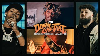 (1 HOUR) KSI–Down Like That Feat. Rick Ross, Lil Baby & S X (Official Video)
