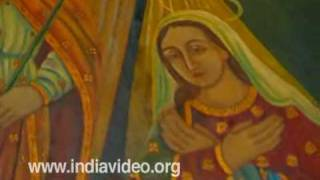 Murals- Kanjoor Church