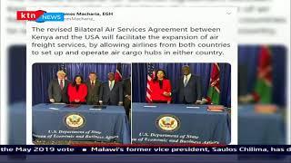 Kenya and US sign an amendment to the US-Kenya bilateral air services agreement