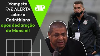 Vampeta faz alerta sobre situação dramática no Corinthians