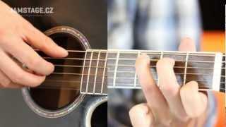 Začínáme s akustickou kytarou - Hra prsty (Fingerstyle) - 1.díl