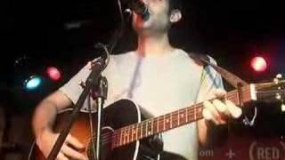 Joshua Radin singing Sundrenched World