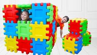 Ali Adriana and broken playhouse