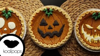 How to Decorate Store-Bought Pumpkin Pies for Halloween | Become a Baking Rockstar