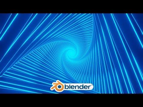 Blender - Simple Abstract Eevee Animation (blender 2 8