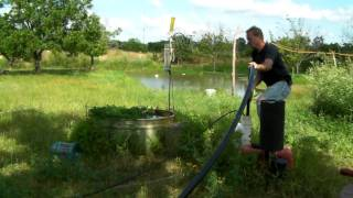 Air lift water well pump in elgin texas part 2.5