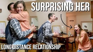 Surprising Her!! Surprising girlfriend in long distance relationship