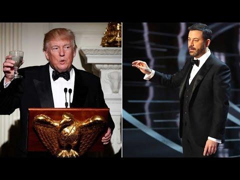Oscars 2017: Jimmy Kimmel mocks Donald Trump