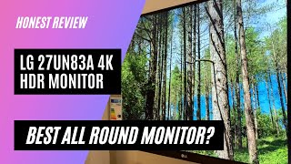 LG 27UN83A 4K HDR Monitor Review: BEST ALL ROUND MONITOR 2020?