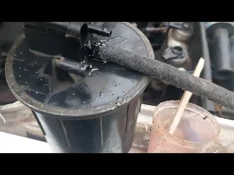 Ремонт адсорбера или непонятный свист из под капота
