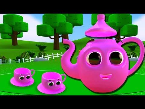 ich bin kleine Teekanne | -Kinderreimbild Kompilation | Kinderlieder zu singen