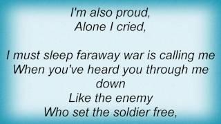 Robin Gibb - A Very Special Days Lyrics