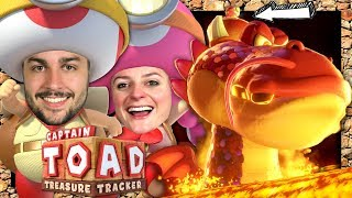 TOADETTE CHEVAUCHE LE DRAGON ! | CAPTAIN TOAD : TREASURE TRACKER CO-OP EPISODE 7 NINTENDO SWITCH