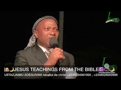 USTAZJAMIU/🕌🌙JESUS TEACHINGS FROM THE BIBLE☪️ 🕋🌙