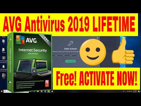 avg internet security 2019 license key free