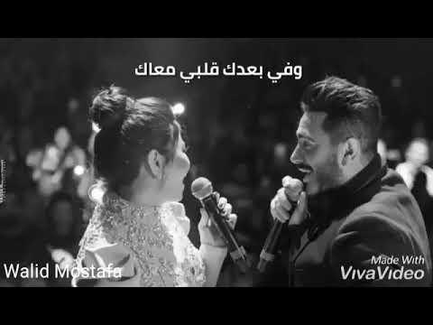 دويتو عالمي بين تامر حسني وشيرين عبد الوهاب😍♥️👑