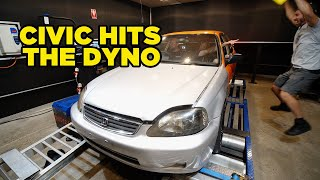 Our Civic Hits the Dyno (EP 13)