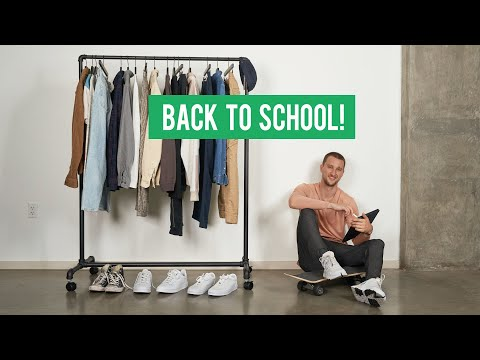 18 Fresh Back To School Pieces for Every Student   Men's Fashion BTS Haul
