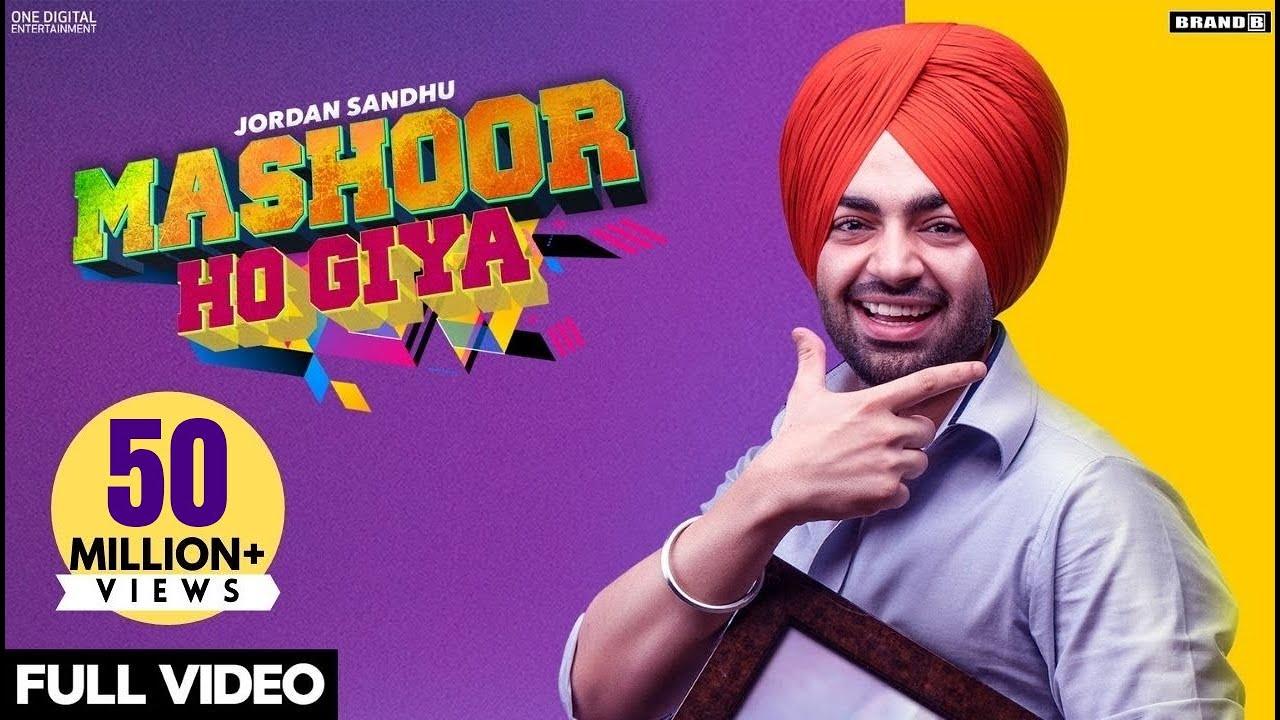 Mashoor Ho Giya Lyrics – Song - Jordan Sandhu - Desi Crew - #LyricsBEAT