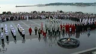 Легендарный Севастополь.  Галаконцерт SEVASTOPOL MILITARY TATTOO