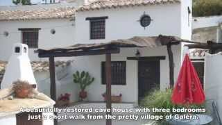 Http://www.viddeo.biz/ Cave House For Sale In Galera Sold By Spanish Inland  Properties A STUNNING Cave House With Three Bedrooms Just A Short Walk From  ...