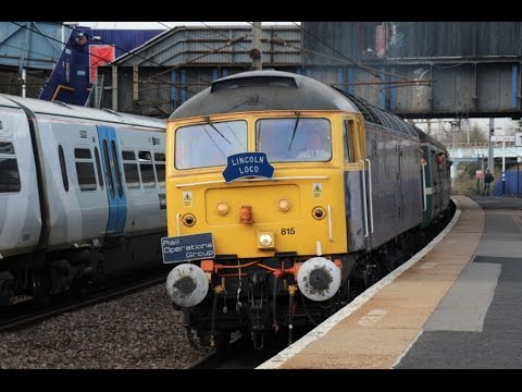 Rail Operations Group 47815 & 37884 at Harringay and London …