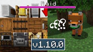 ВЫШЕЛ НОВЫЙ Minecraft Pe 1.10.0 ( РЕЛИЗ ) -  НОВЫЕ ДЕРЕВНИ , АРБАЛЕТ И НОВЫЕ ПРЕДМЕТЫ , ПОЛНЫЙ ОБЗОР