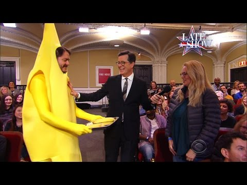 The Late Show's Good News Bananas