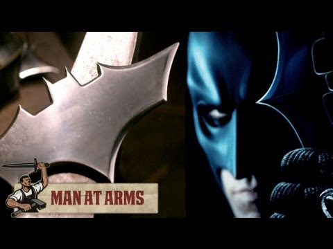 Plasma Cutting Batarangs (the Dark Knight)