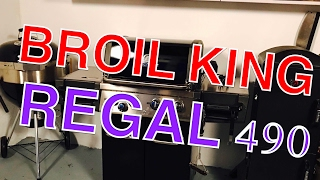 Vorstellung BROIL KING REGAL 490 GASGRILL 2017 TEST --- Klaus grillt
