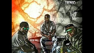 Meek Mill, Chris Brown & French Montana - Poppin (Remix) lyrics