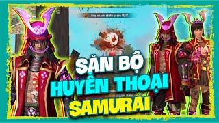 [Free Fire] VQCT Săn Bộ Huyền Thoại Samurai - Vẩy AWM Headshot Cực Khét | Lưu Trung TV