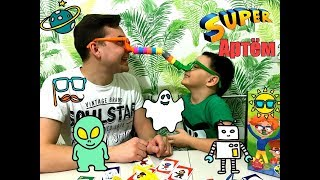 Детская и смешная игра Верю не верю или длинный нос челлендж от Артёма Романова