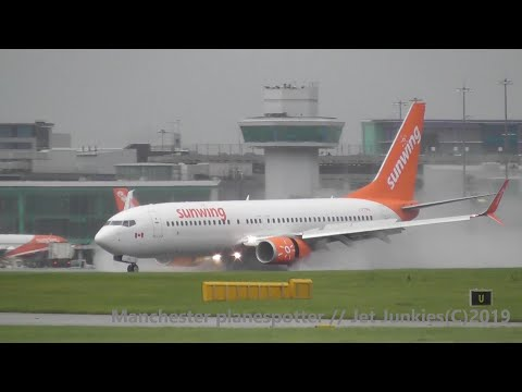 (HD) Plane Spotting At (MAN) Manchester Airport (EGCC) At Runways 23L/R On The 23/09/2019