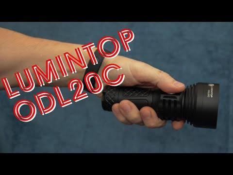 Lumintop ODL20C | best 26550 long-thrower flashlight review