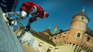 Lausanne Track Preview - Red Bull Crashed Ice 2013