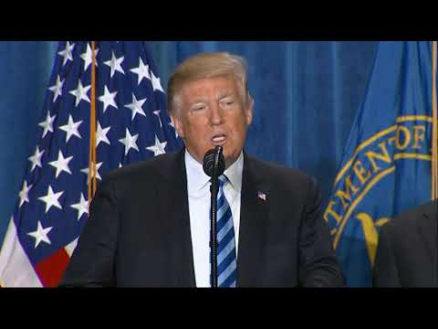 President Donald Trump says he's taking steps to lower prescription drug prices. Trump said that for decades other countries have rigged the system so Americans pay more. He says Americans are now going to pay the prices other countries pay. (Oct. 25)