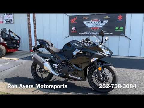 2019 Kawasaki Ninja 400 in Greenville, North Carolina - Video 1