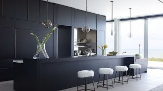 30 Kitchens Design Ideas With Black Cabinets