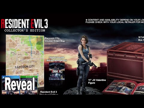 Resident Evil 3 Remake - Collector's Edition Reveal Trailer [HD 1080P]