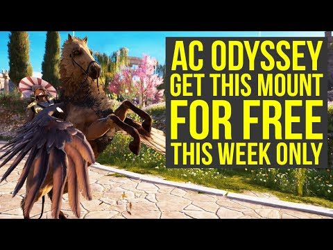 Assassin's Creed Odyssey Best Horse FOR FREE For One Week Only & May Update (AC Odyssey Mounts)
