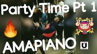 Best Amapiano Dance Moves 2019 Part 1 | Party Time Compilation