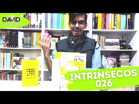 UNBOXING INTR�NSECOS 026 | CLUBE INTR�NSECOS | DAVID HENRIQUE