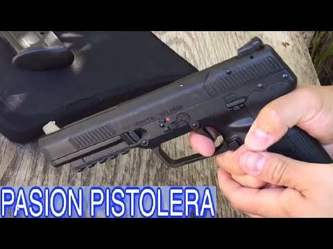 PISTOLA FN 5.7 vs CHALECOS ANTIBALAS en Español