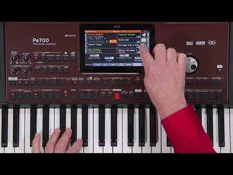 Korg Pa700 61-key Arranger Workstation | Sweetwater