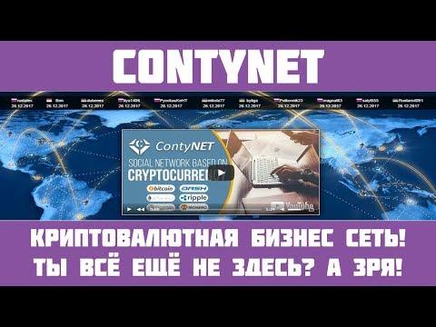 Contynet - Полный обзор на классную социальную бизнес сеть!