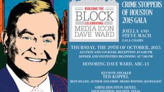 Dave Ward Texas Radio Hall of Fame induction 2016