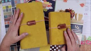 Fall Travelers Notebook Setup